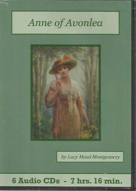 Anne of Avonlea Audiobook Cd Set, Lucy Maud Montgomery