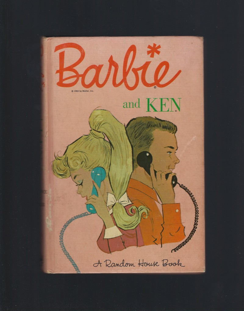 Barbie and Ken (Barbie Book Series) 1963 HB, Cynthia Lawrence; Bette Lou Maybee; Clyde Smith [Illustrator]
