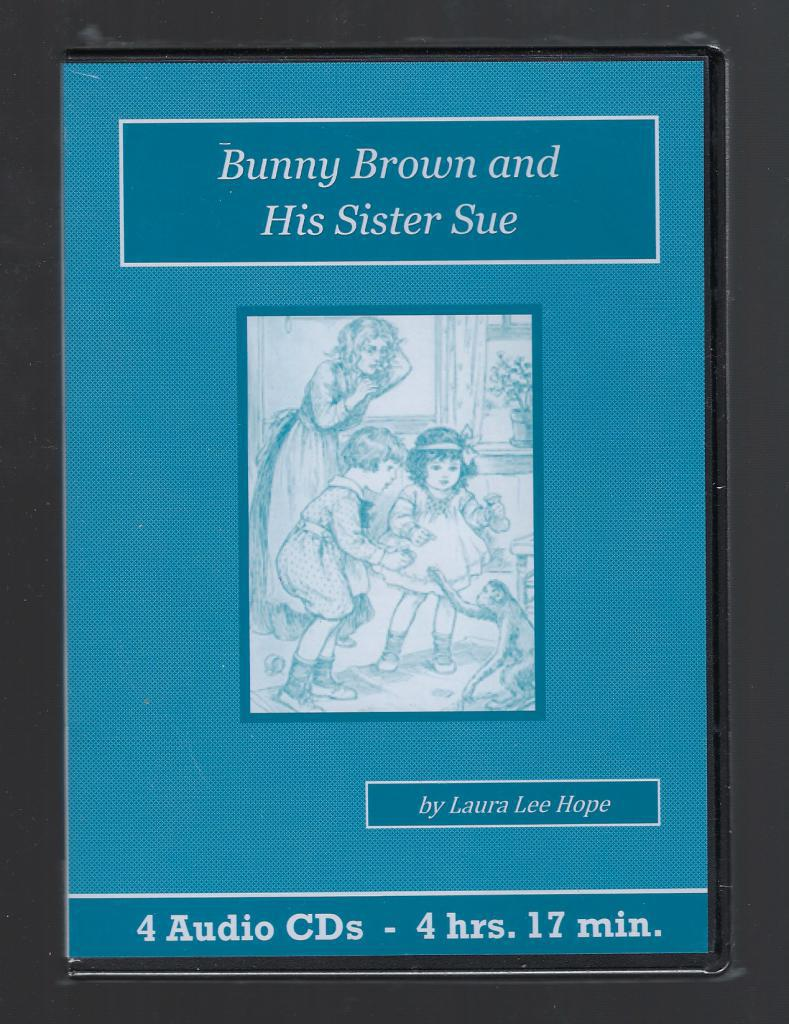 Bunny Brown and His Sister Sue Children's Audiobook CD Set, Laura Lee Hope