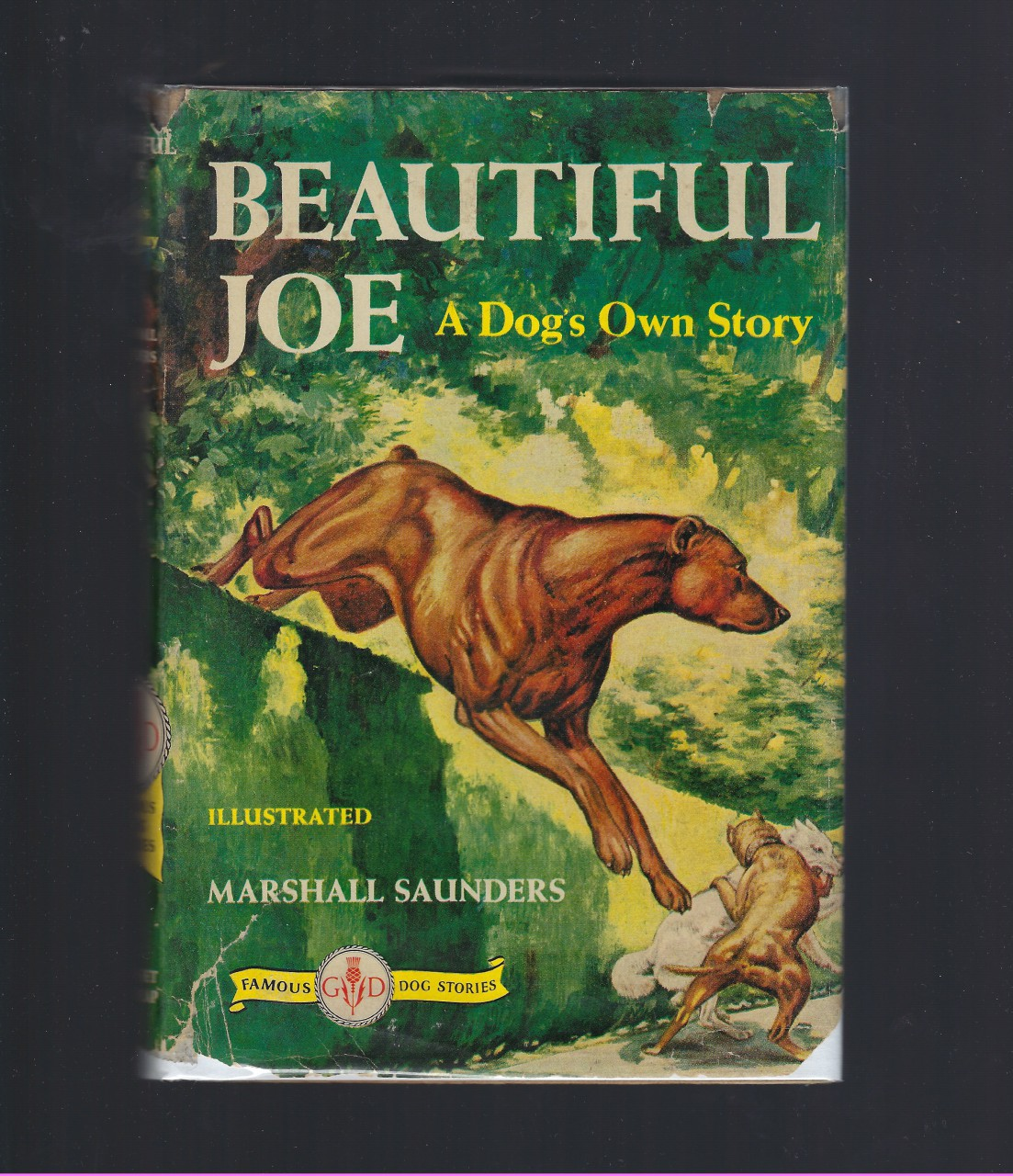 Beautiful Joe A Dog's Own Story (Famous Dog Stories) HB/DJ, Saunders, Marshall