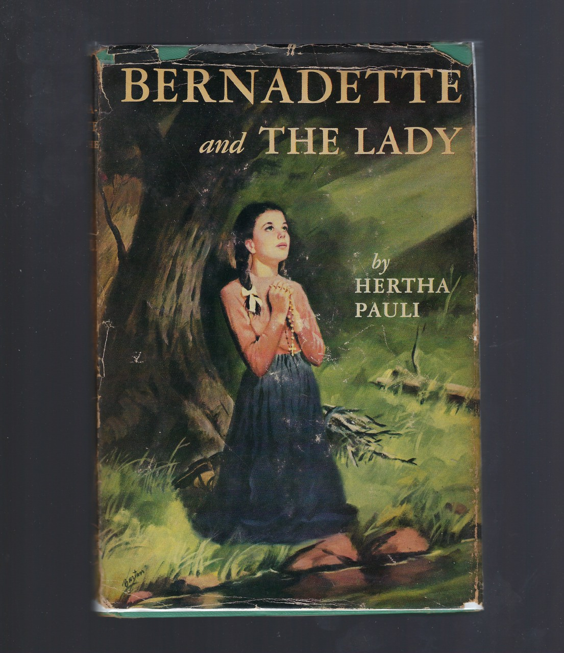 Bernadette and The Lady #5 Vision Catholic HB/DJ, Hertha Pauli