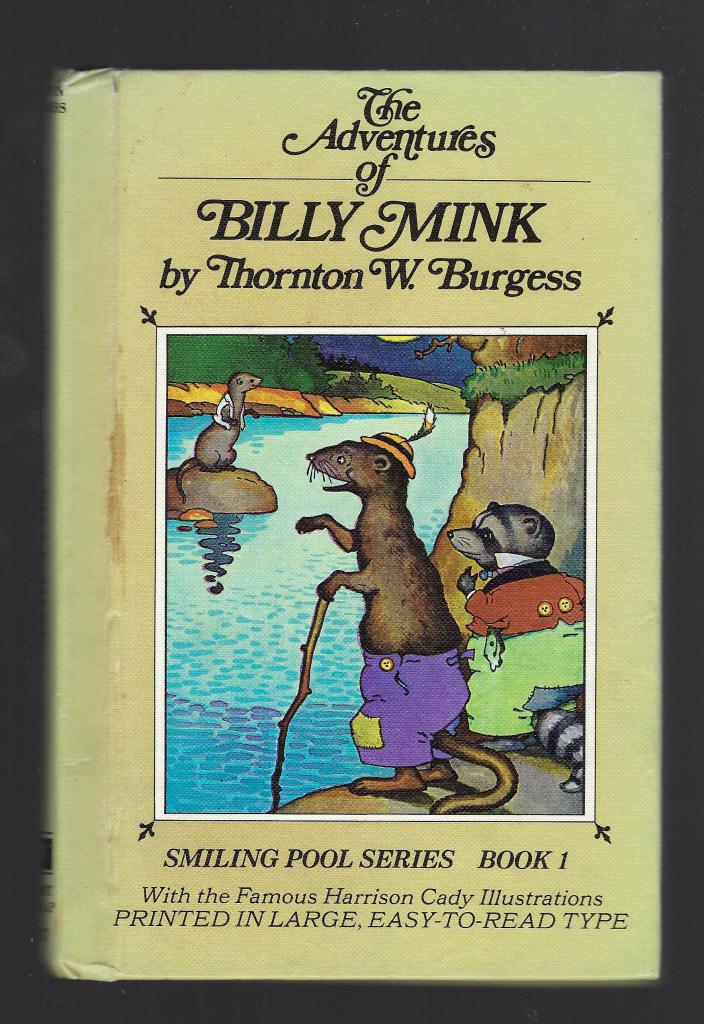 Billy Mink #37 Thornton Burgess HB/PC, Burgess, Thornton W.