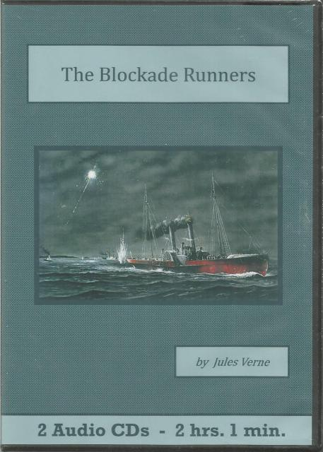 The Blockade Runners Jules Verne  Audiobook CD Set, Jules Verne