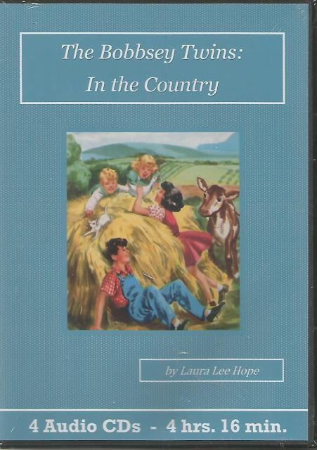 Bobbsey Twins In the Country Children's Audiobook CD Set, Laura Lee Hope