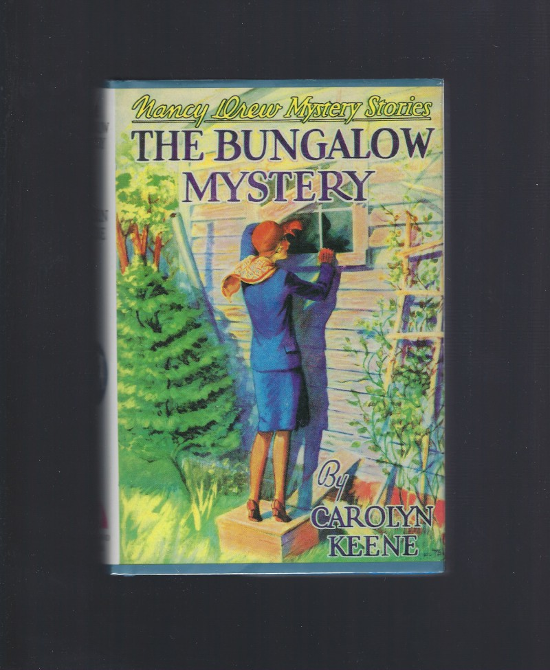 The Bungalow Mystery Nancy Drew #3 Applewood HB/DJ, Mildred A. Wirt; Carolyn Keene; Russell H. Tandy [Illustrator]
