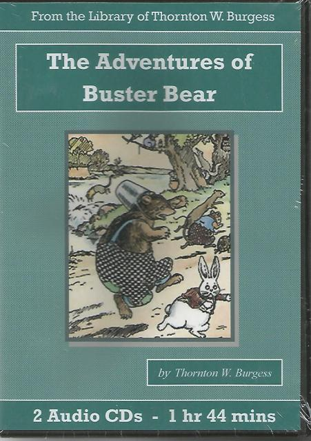 Adventures of Buster Bear Thornton Burgess Audiobook CD Set, Thornton W. Burgess
