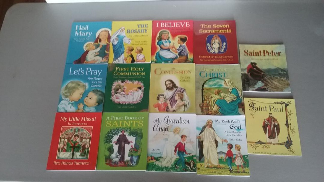14 Vintage Catholic Children's Books (Reprints from 1950's)