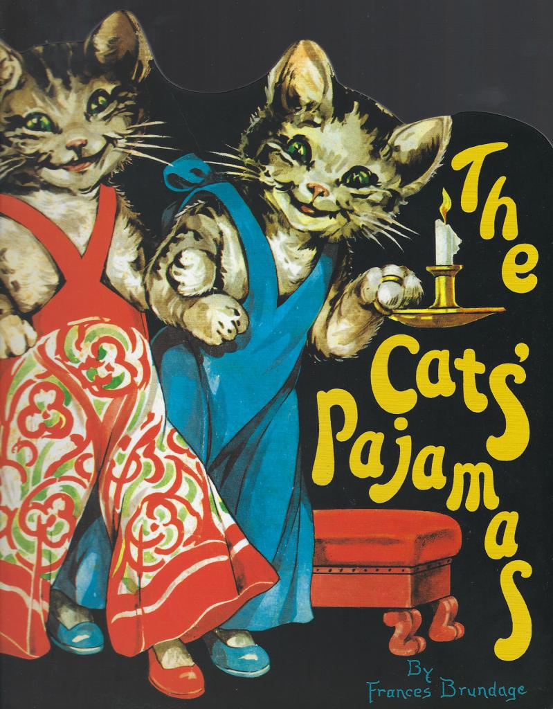 The Cats' Pajamas (Shape Books), Brundage, Frances