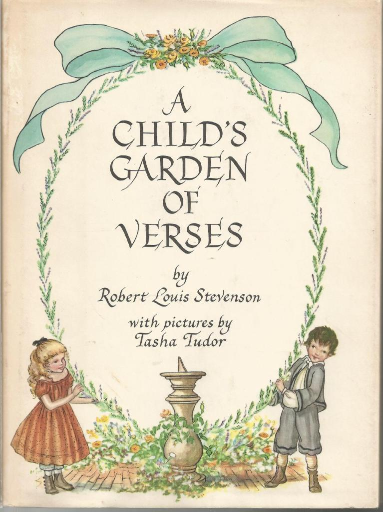 A Child's Garden of Verses Tasha Tudor HB/DJ Nice!, Robert Louis Stevenson