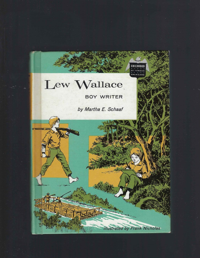 Image for Signed By Author to Congressman Lew Wallace Boy Writer Childhood of Famous Americans 1961 HB/DJ