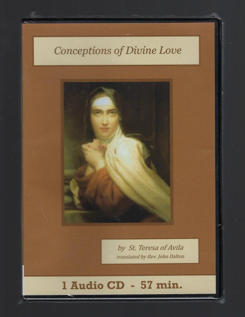 Image for Conceptions of Divine Love Catholic Audiobook CD Set