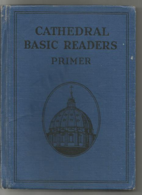 Cathedral Basic Readers Primer 1931 Dick and Jane Dark Pony/Sleepytown Story, John A. O'Brien