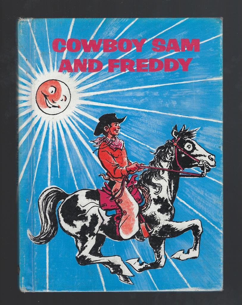 Cowboy Sam And Freddy Reader 1970, Chandler; Merryweather [Illustrator]