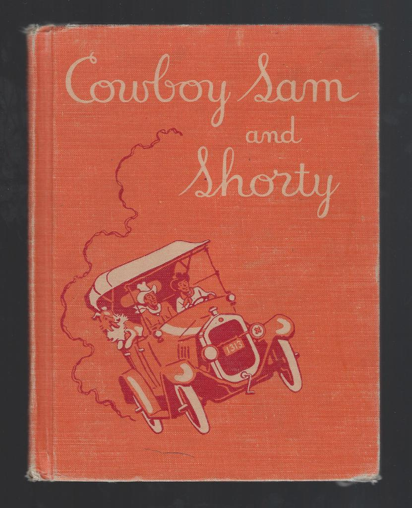 Cowboy Sam and Shorty 1953 Vintage Reader, Chandler, Edna Walker