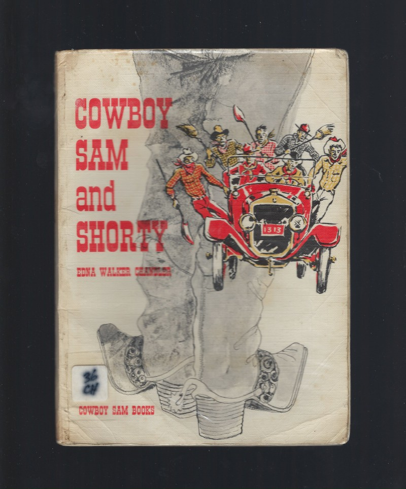 Cowboy Sam and Shorty Reader Softcover from Australia, Edna Walker Chandler
