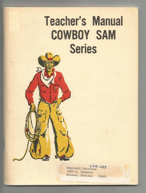 Cowboy Sam Teacher's Manual (Cowboy Sam Reader Series), Edna Walker Chandler