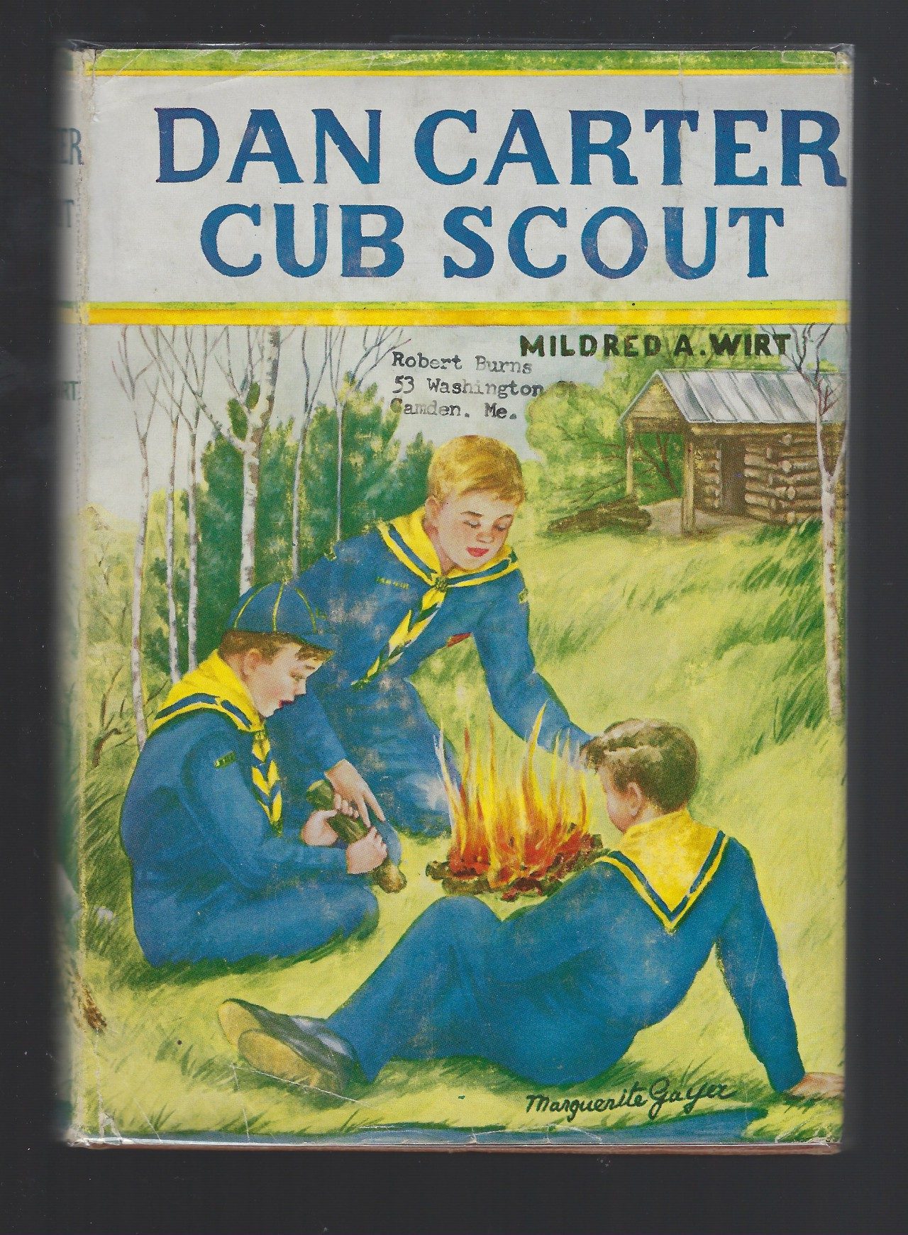 Dan Carter Cub Scout #1 Mildred Wirt Nancy Drew HB/DJ, Mildred A. Wirt