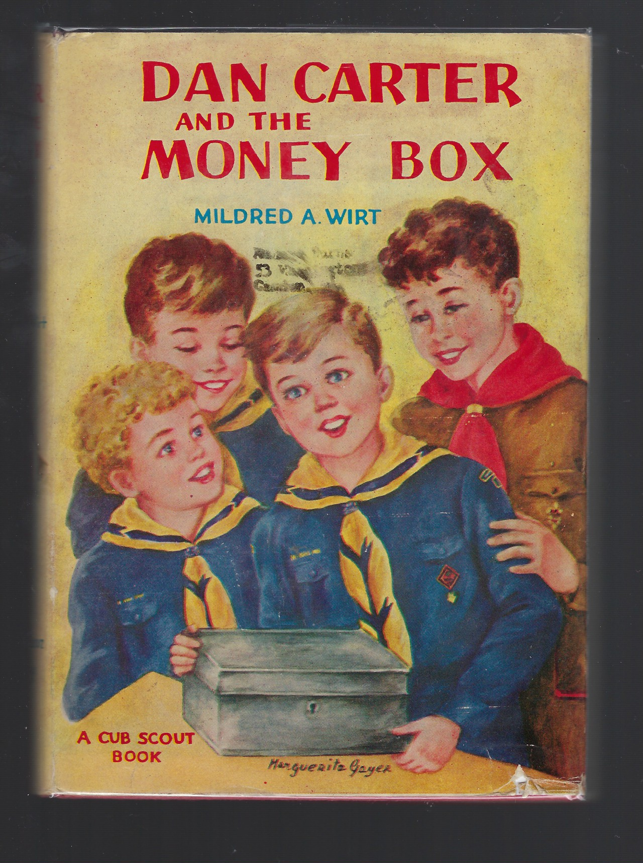 Dan Carter and the Money Box #3 HB/DJ Mildred Wirt Nancy Drew Author, Wirt, Mildred A.(Benson) (Augustine); Frontis [Illustrator]