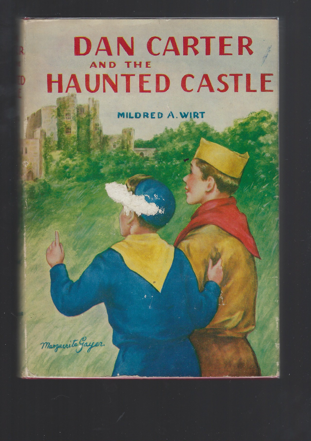 Dan Carter and the Haunted Castle #4 HB/DJ Mildred Wirt Nancy Drew Author, Mildred A Wirt