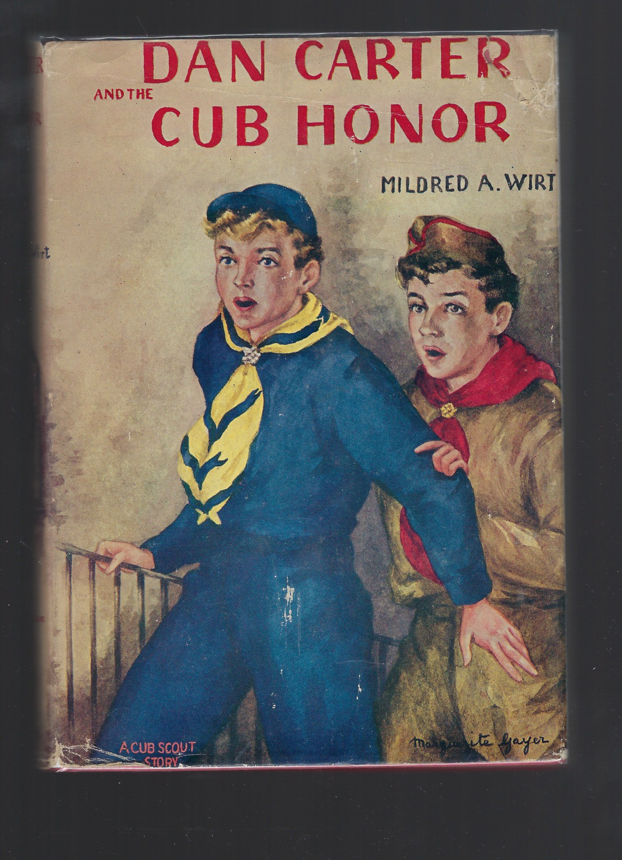 Dan Carter and the Cub Honor #6 HB/DJ Mildred Wirt Nancy Drew Author, Mildred A. Wirt