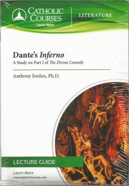 Dante's Inferno - DVD: A Study on Part I of The Divine Comedy, Esolen Ph.D., Anthony