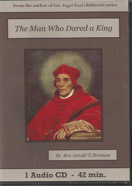 Image for The Man Who Dared a King Catholic Children's Audiobook CD Set