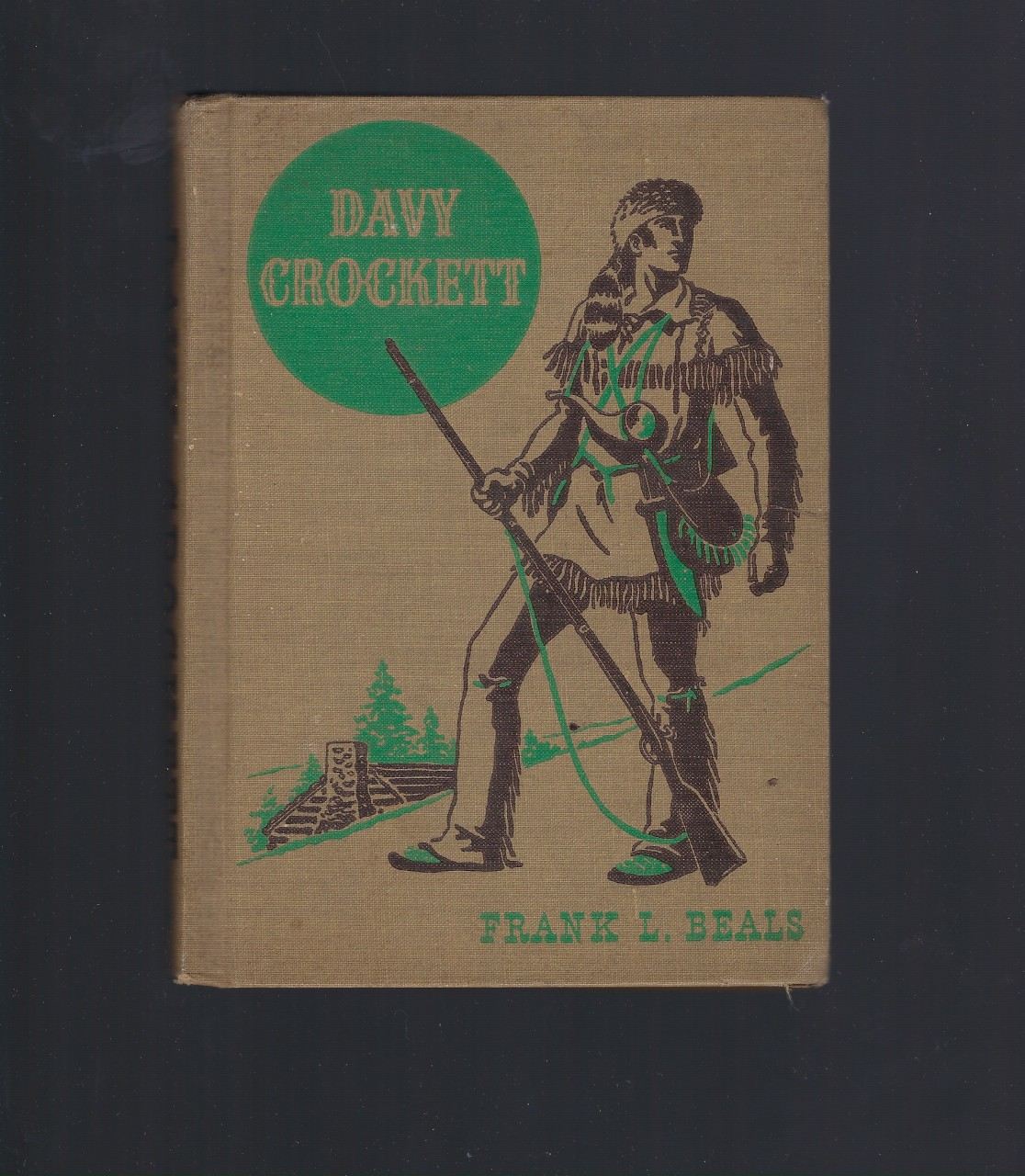 Davy Crockett (The American Adventure Series) 1941, Frank Lee Beals