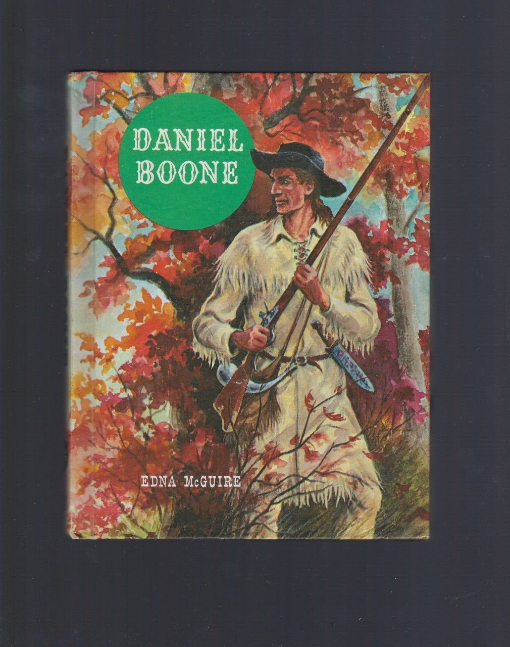 Daniel Boone (The American Adventure Series) 1961, Edna McGuire