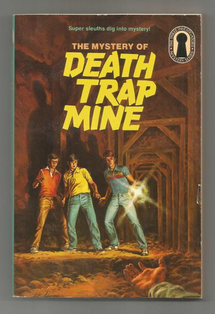 Mystery of Death Trap Mine #24 TRUE FIRST PRINTING (3 Investigators), Mary V. Carey