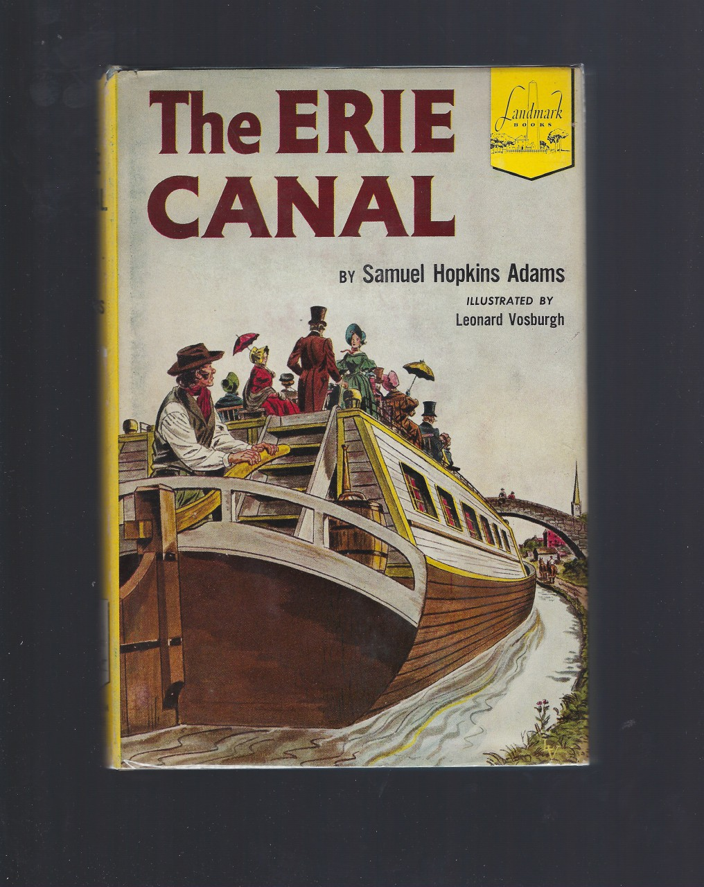 The Erie Canal Landmark #34 HB/DJ, Adams, S.H.