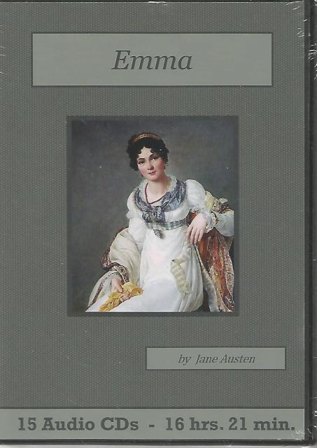 Emma Audiobook CD Set, Jane Austen