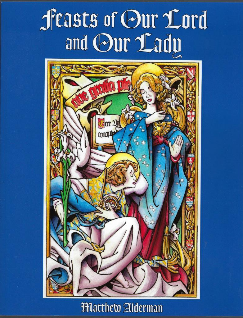 Image for Feasts of Our Lord and Our Lady (Catholic Coloring Book)