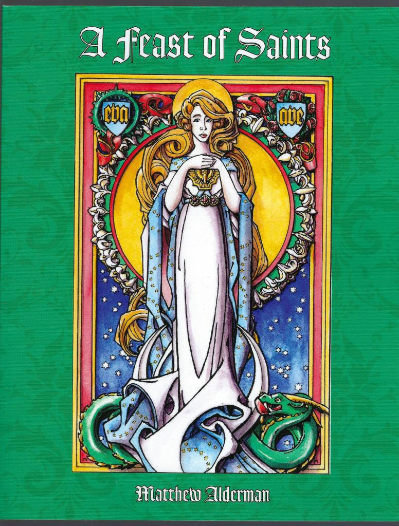 Image for A Feast of Saints Catholic Coloring Book