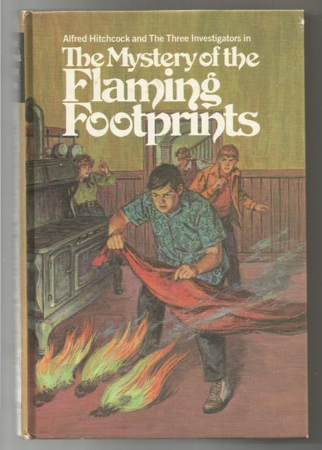The Mystery of the Flaming Footprints #15 (3 Investigators) Hardback, M.V. Carey; Harry Kane [Illustrator]