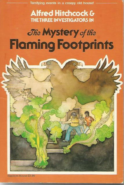 The Mystery Of The Flaming Footprints #15 Three Investigators, M. V. Carey
