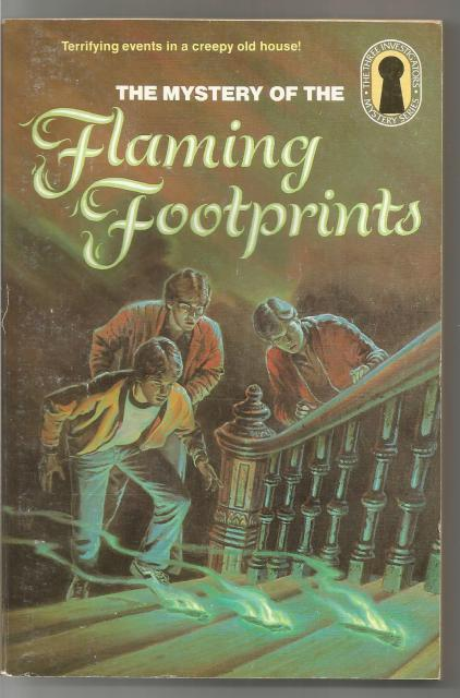 Mystery of the Flaming Footprints #15 (The Three Investigators Mystery Series), M. V. Carey