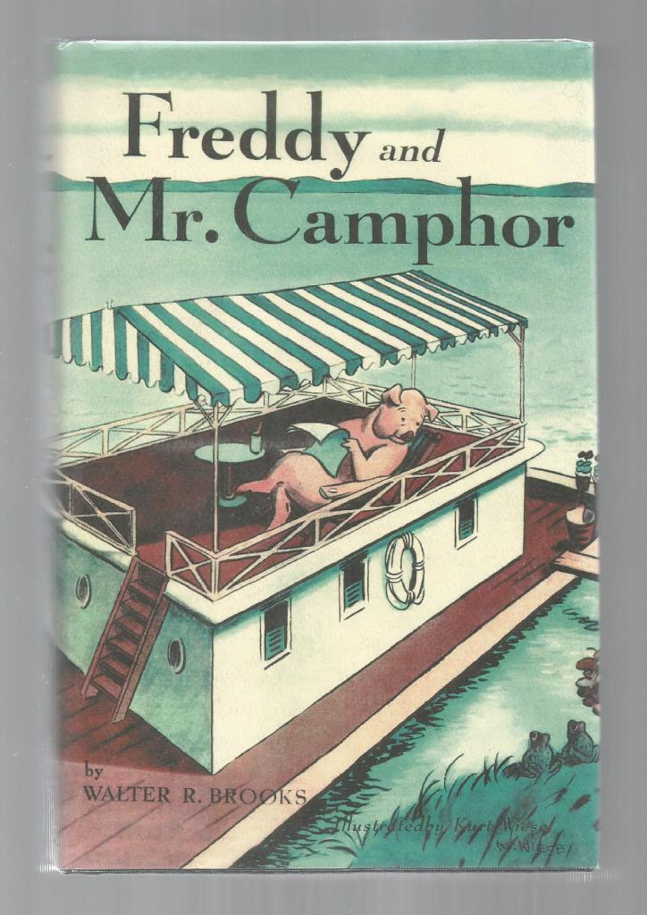 Freddy and Mr. Camphor HB/DJ (Freddy the Pig), Brooks, Walter R.; Wiese, Kurt [Illustrator]