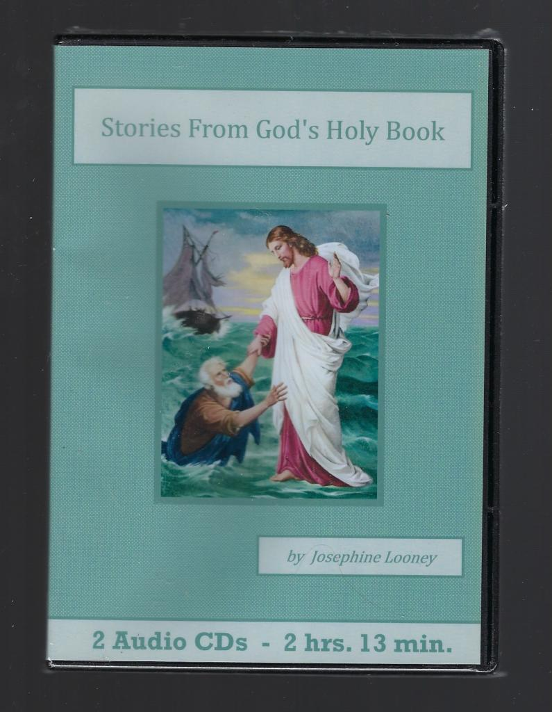 Image for Stories From God's Holy Book Catholic Children's Audiobook CD Set