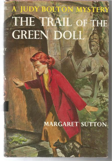 The Trail of the Green Doll #27 Judy Bolton Mystery Series HB/DJ, Margaret Sutton