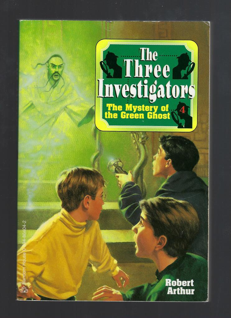 The Mystery of the Green Ghost #4 The Three Investigators, Robert Arthur