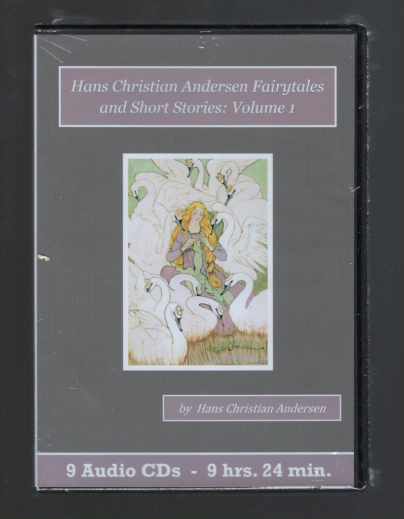Hans Christian Andersen Fairytales and Short Stories Volume 1 Audiobook CD Set, Hans Christian Andersen