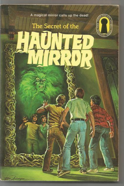 The Secret of the Haunted Mirror Keyhole Edition (Three Investigators), Carey, Mary V.