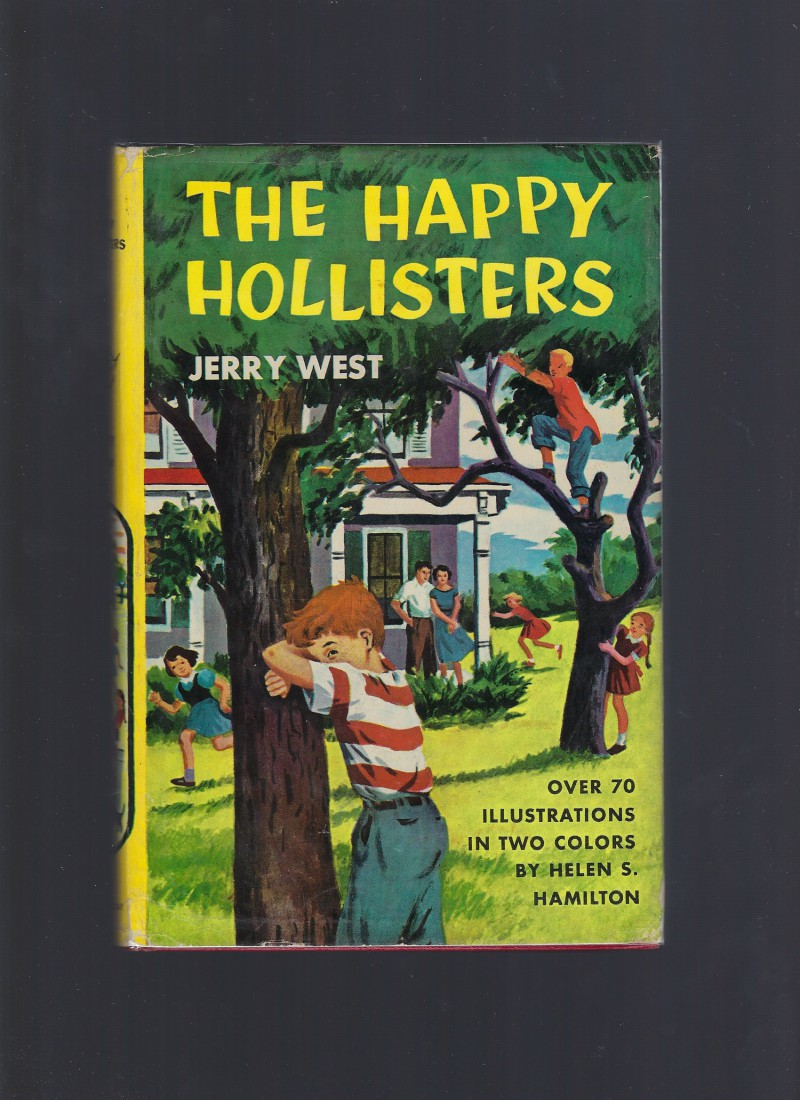 The Happy Hollisters First Book in Series! HB/DJ, Jerry West