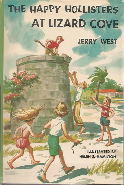 The Happy Hollisters at Lizard Cove #13 HB/DJ, Jerry West; Illustrator-Helen Hamilton