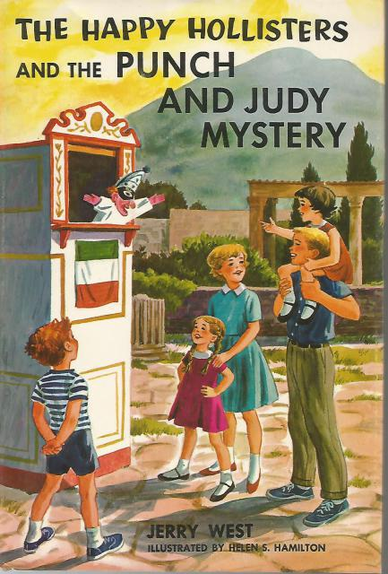The Happy Hollisters And and the Punch and Judy Mystery #27 HB/DJ, Jerry West; Illustrator-Helen Hamilton