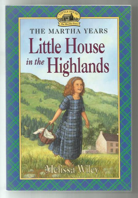 Author Signed Little House in the Highlands Little House Like New, Melissa Wiley