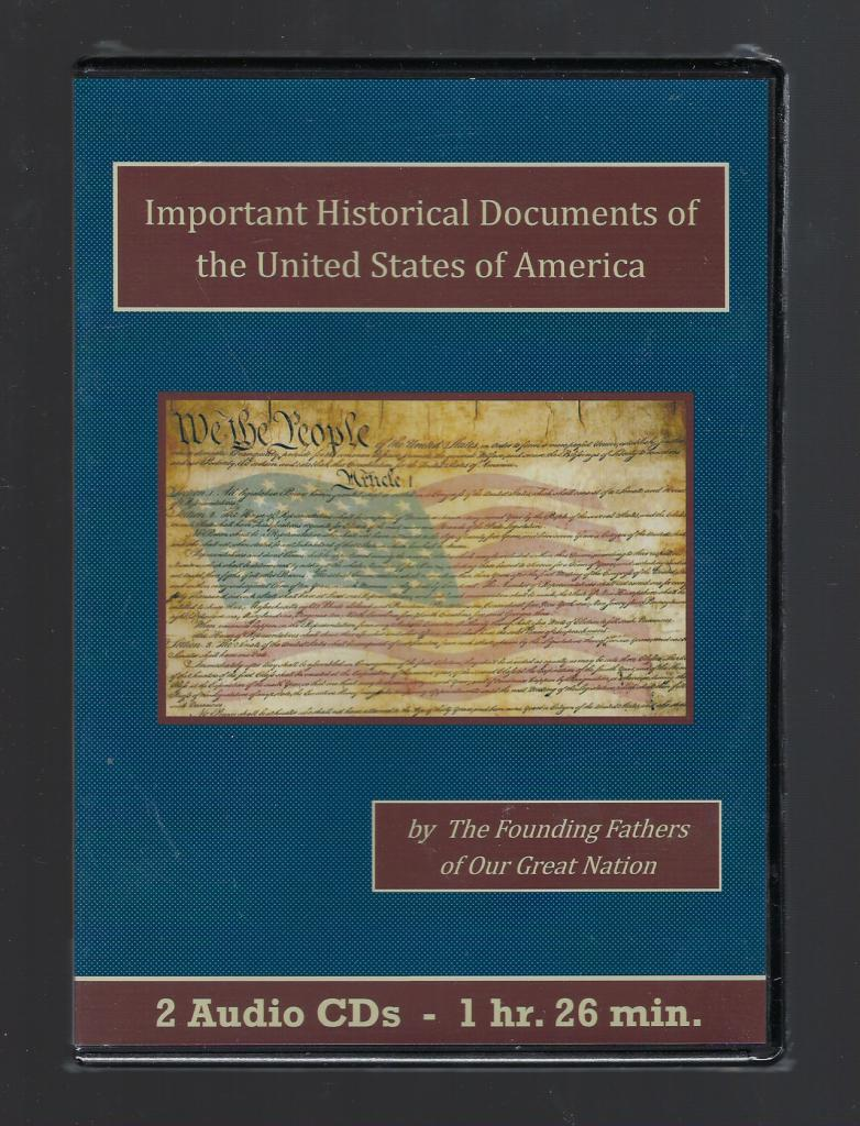 Important Historical Documents of the United States of America CD Set, The Founding Fathers; The Founding Fathers [Contributor]