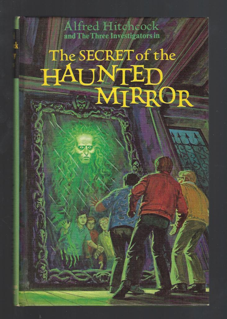 The Secret of the Haunted Mirror #21 Three Investigators First Printing Hardback, Mary V. Carey