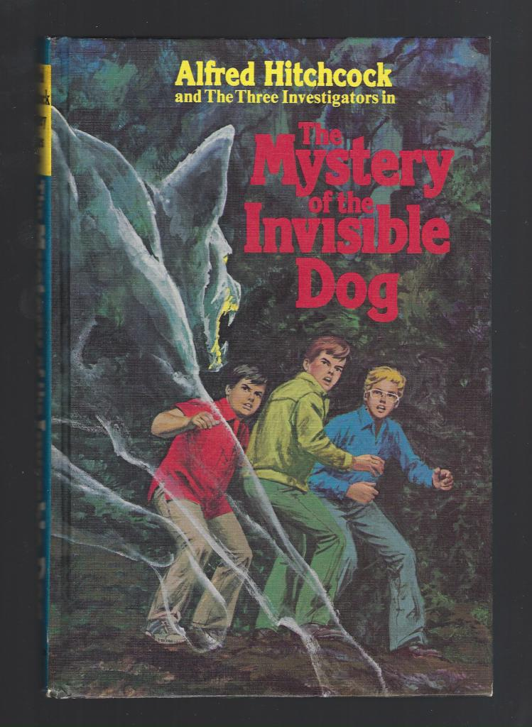 The Mystery of the Invisible Dog (Three Investigators #23) First Printing Hardback, Mary V. Carey