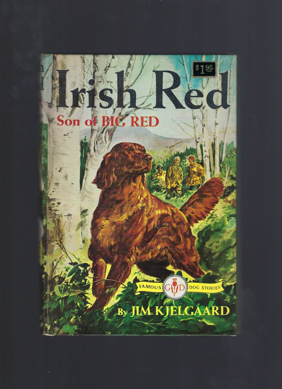 Irish Red Son of Big Red (Like New Condition) (Famous Dog Stories) HB/DJ, Jim Kjelgaard